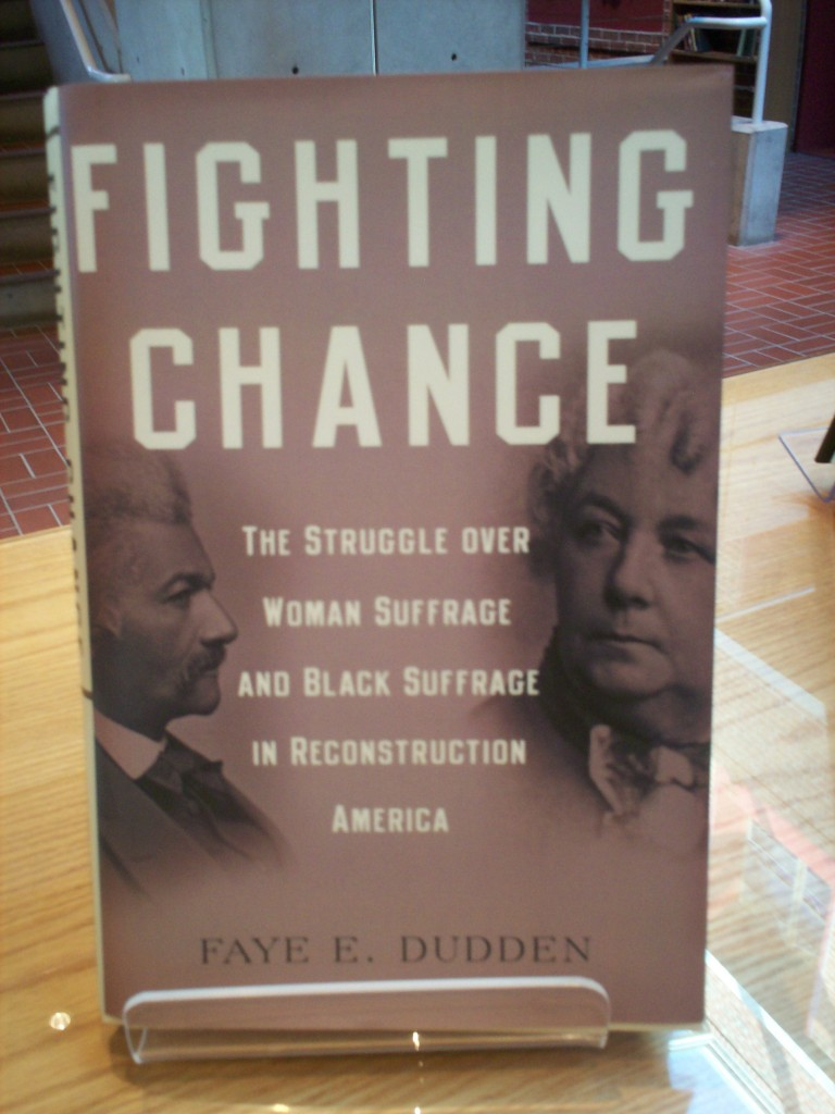 Fighting chance women suffrage and black suffrage in reconstruction America