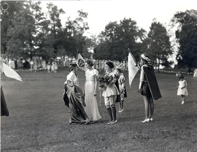Alma Mater photo circa 1935