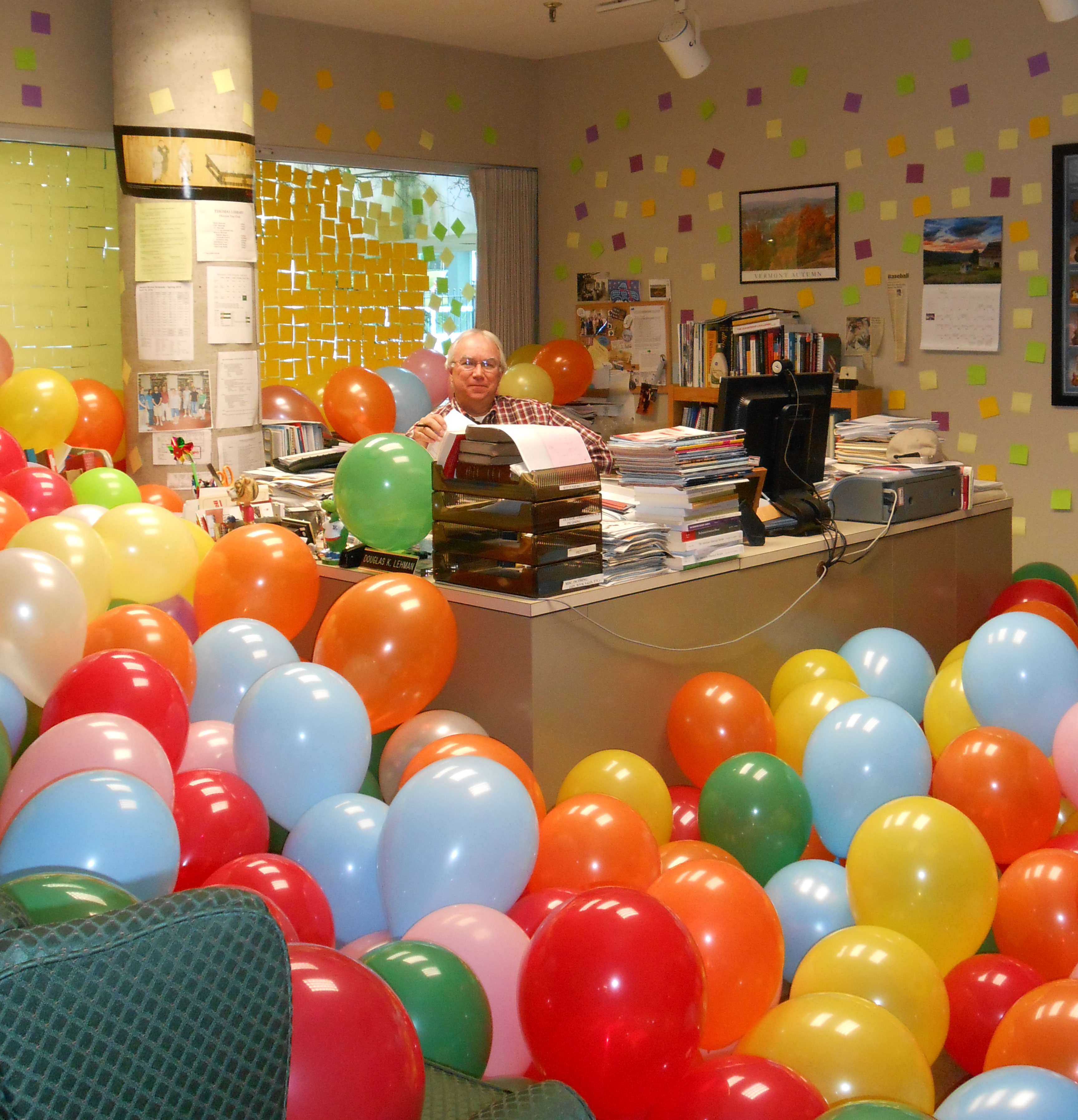 Surprise in the Director's Office! | Thomas Library Blog
