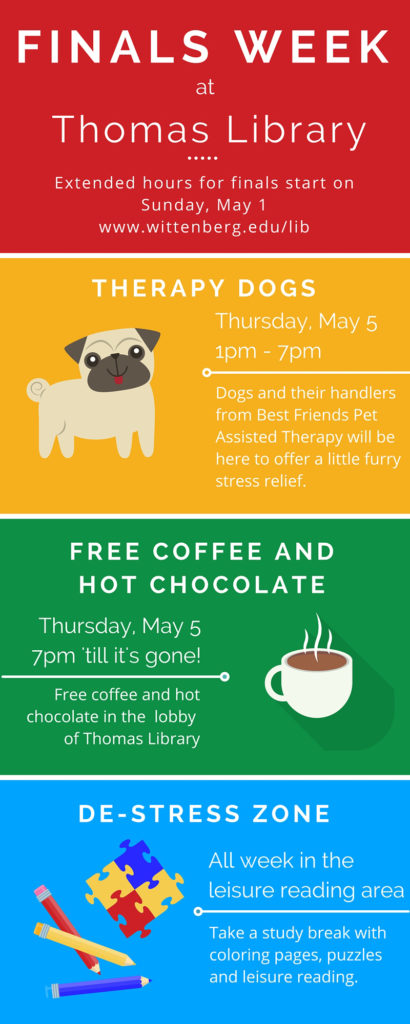 Finals Week Events in Thomas Library May 2016 JPG